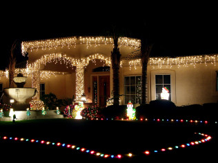 Holiday Lighting and Garland